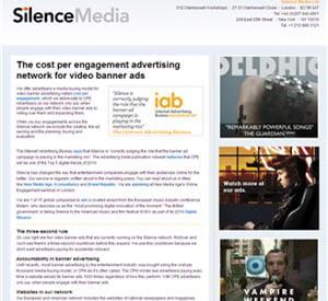 silence media