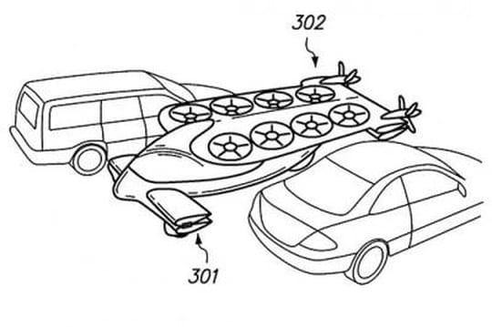 Google est-il en train de créer une voiture volante ?