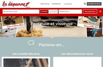 Monsieur bricolage lance la d panne site de location et vente d 39 outils e - Site vente bricolage ...