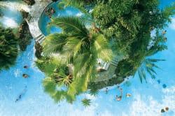 l'aqua mondo est au cœur du concept center parcs.