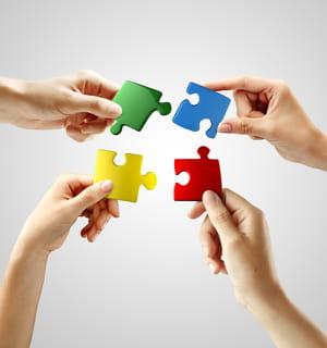 une équipe soudée a davantage de chances de mener à bien son projet.