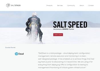 saltstack ne prend pas en charge les clouds de google et de microsoft.