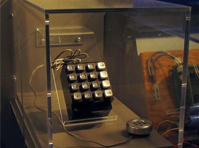 modèle de blue box ayant appartenu au cofondateur d'apple, steve wozniak