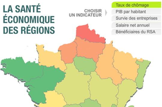 Où en est l'économie dans votre région?