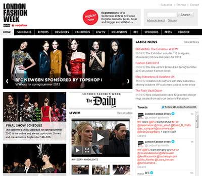 lodon fashion week