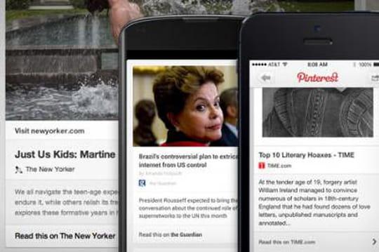 Youtube, Pinterest et Twitter présentent leurs nouvelles fonctionnalités