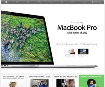 apple est le 1er e-marchand us de la catégorie 'informatique et électronique'