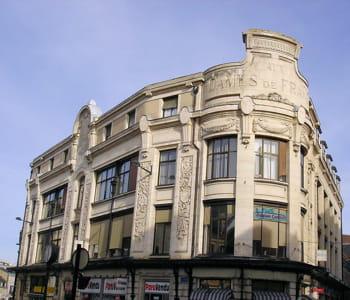 le bâtiment de l'ancien grand magasin dames de france à bourges.
