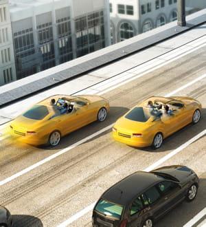 en2011, bmw avait déjà lancé unprototype automatisé sur l'autoroute.