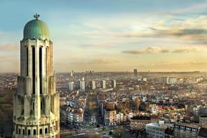 une vue de belgique.
