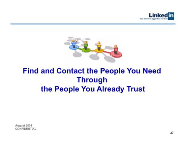 L'offre de LinkedIn en une phrase