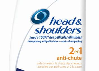 23,5% des consommateurs dans le monde achètent des shampoings head &shoulders.