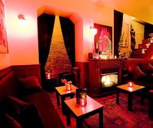l'intérieur du bar flûte.