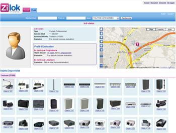 zilok est une place de marché de la location