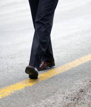 bouger des pieds indique de la nervosité.