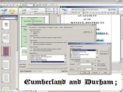 abby finereader est spécialisé dans la reconnaissance de caractères (ocr)