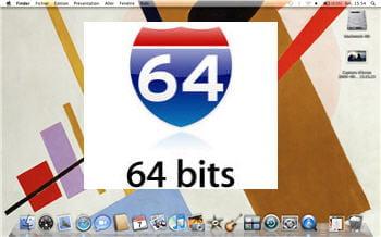 une couche de 64 bits sur du 32.