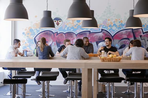 La cafétéria, un des lieux clé de l'entreprise