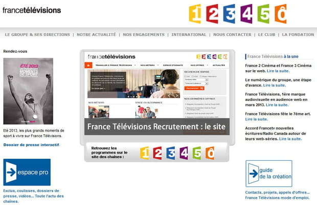 France Télévisions en 2013