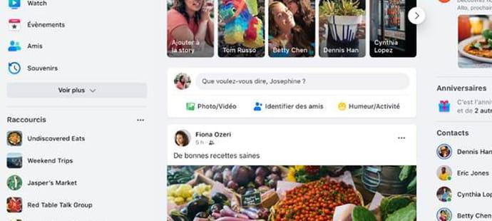 Facebook: comment profiter de la nouvelle interface Web