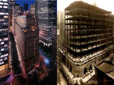 le bâtiment abritant la réserve fédérale depuis 1924.