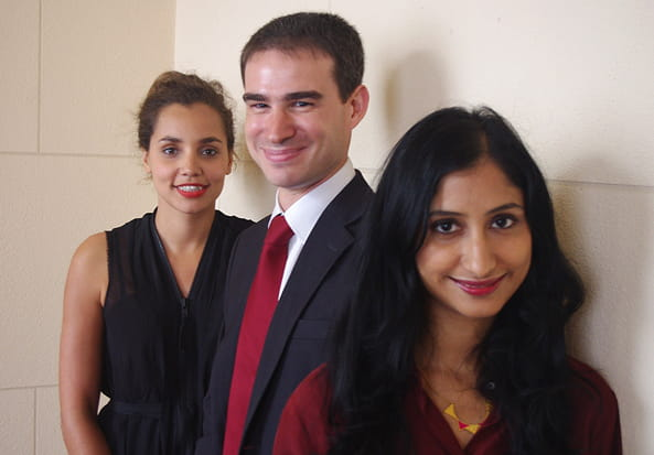 Trois finalistes