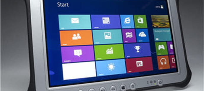 Panasonic lance ses tablettes durcies Windows 8 Pro et Android