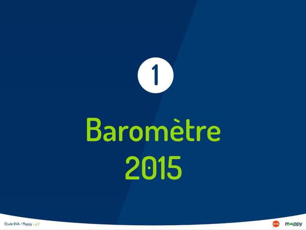 L'édition 2015 du baromètre