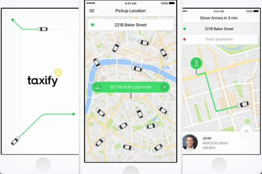 taxify un concurrent s rieux pour uber paris. Black Bedroom Furniture Sets. Home Design Ideas
