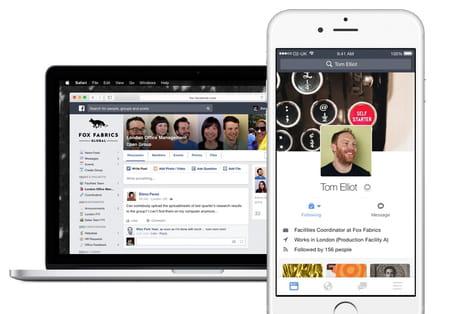 Workplace by Facebook: qui l'utilise en France, et pour quels usages?