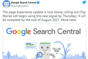 Page Experience Update: êtes-vous au point?