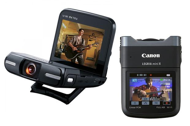 Un caméscope Canon