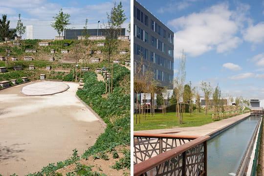 Siège BNP Paribas : jardins