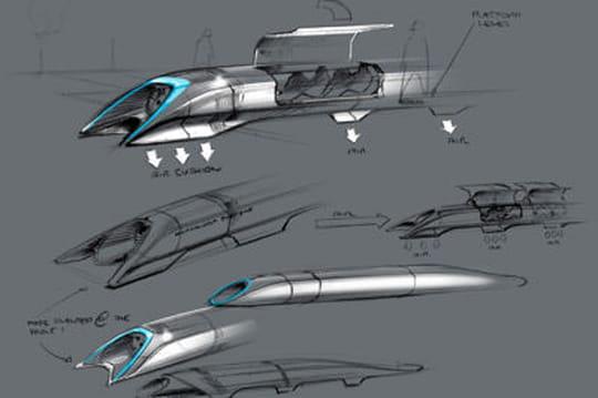 Hyperloop dévoilé