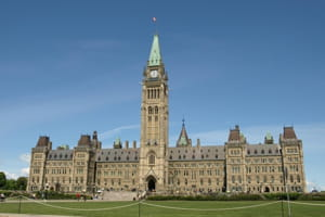la parlement, à ottawa.