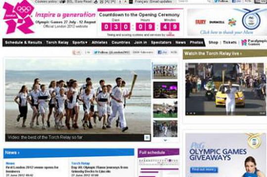 Londres 2012 : le site Web officiel carbure à l'Open Source