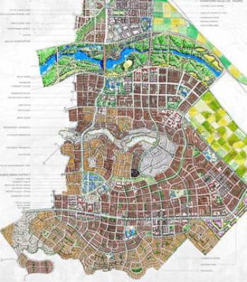 sur 13 000 hectares, valle san pedro est une ville nouvelle géante au mexique.
