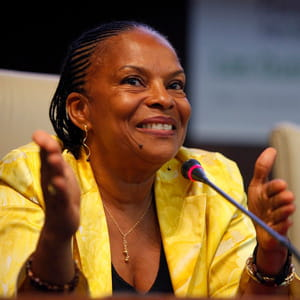 christiane taubira ne profite pas de l'appartement mis à sa disposition.