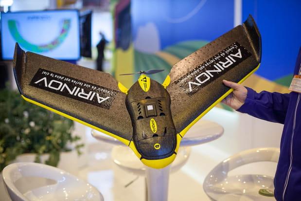Un drone pour cartographier et gérer les champs