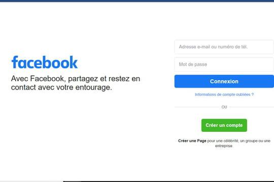 Facebook: le nombre d'utilisateurs baisse pour la première fois en France