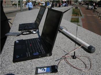 audit de réseaux wi-fi depuis l'extérieur des bâtiments d'entreprise à la