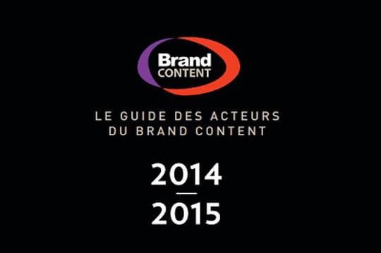 Le troisième Guide des Acteurs du Brand Content est en ligne