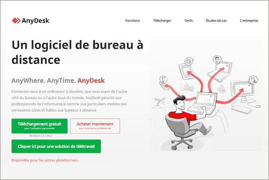 AnyDesk (gratuit): un desktop virtuel pour accéder à son PC à distance