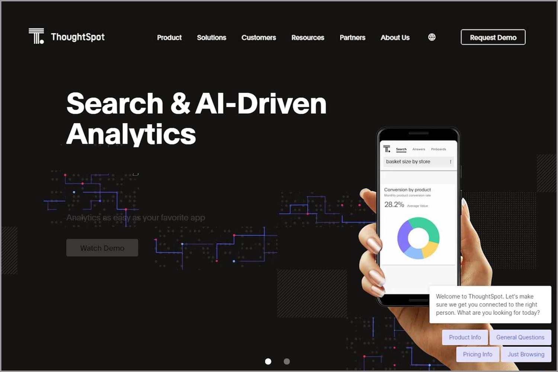 ThoughtSpot, le Google de la data visualisation