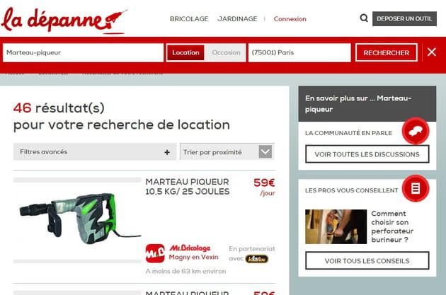 Monsieur bricolage lance la d panne site de location et vente d 39 outils e - Location de materiel de bricolage entre particuliers ...