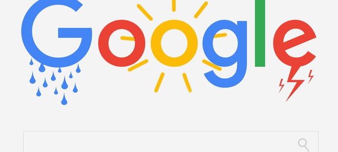 Météo Google en France: des featured snippets de plus en plus fréquents