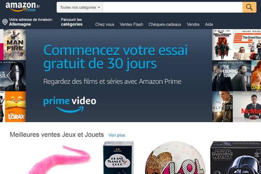 Audience Web: Amazon perd 2,5millions de VU entre décembre et janvier