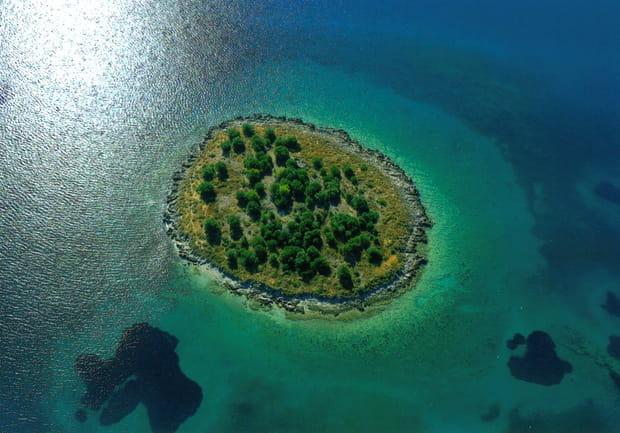 Ile de St Athanasios, Grèce