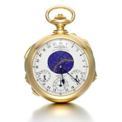 c332f07803579 La montre Supercomplication Henry Graves de Patek Philippe a été vendue aux  enchères à Genève fin 2014.