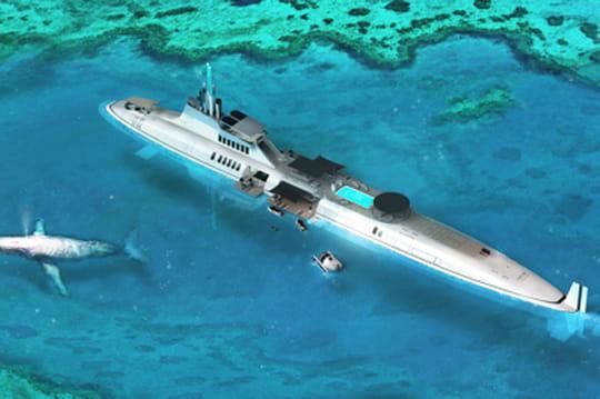 Mi yacht, mi sous-marin, voici le prochain caprice des milliardaires